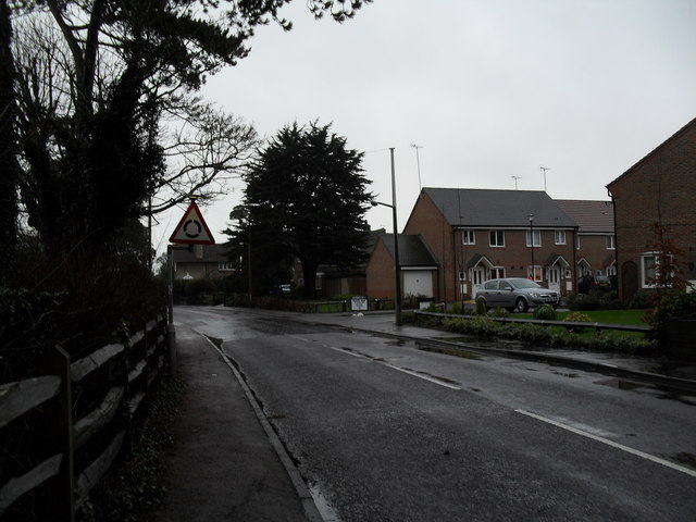 Road sign in Mill Lane
