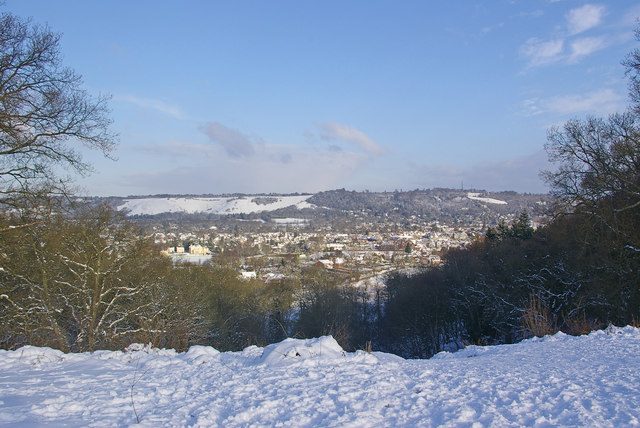Towards Colley Hill and Reigate Hill