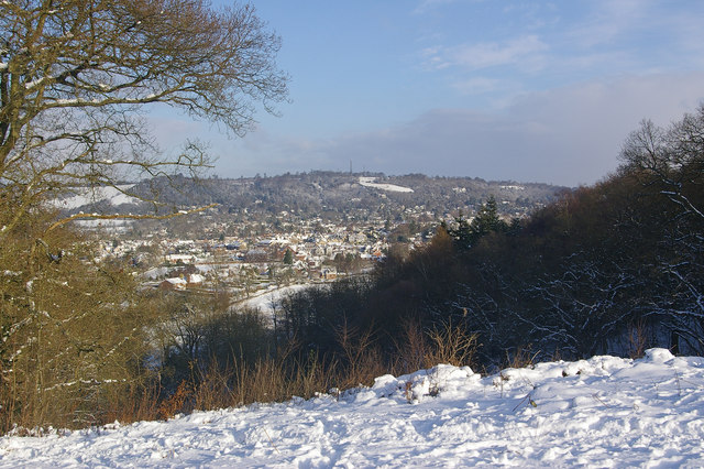 Towards Reigate Hill