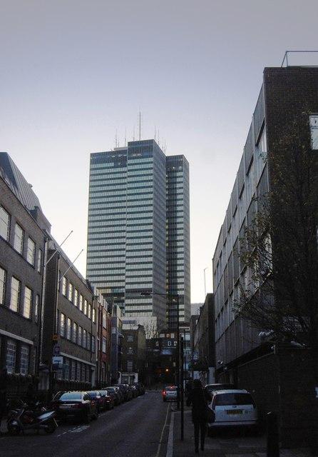 Towerblock off Euston Rd