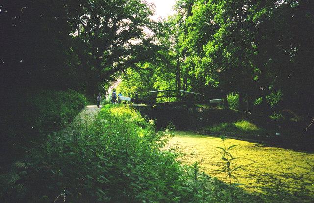 Deepcut Lock No 16, Basingstoke Canal