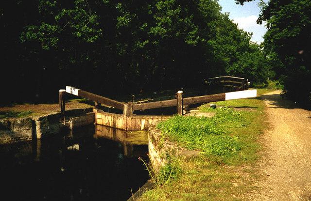 Deepcut Lock No 19, Basingstoke Canal