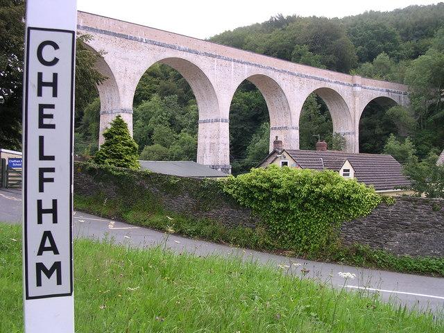 Chelfham Viaduct Lynton & Barnstaple Railway