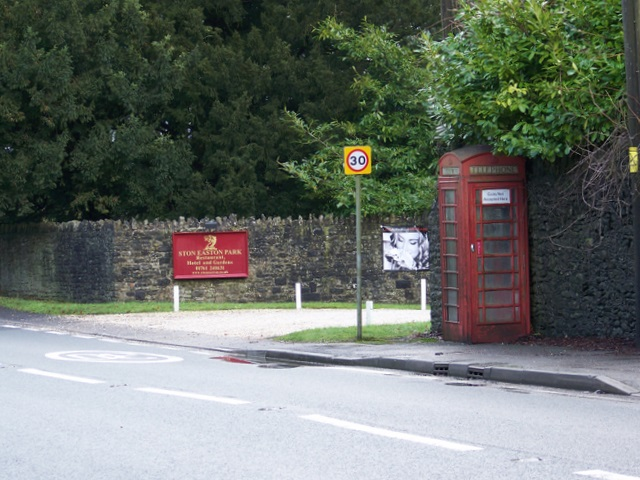 Telephone box, Ston Easton