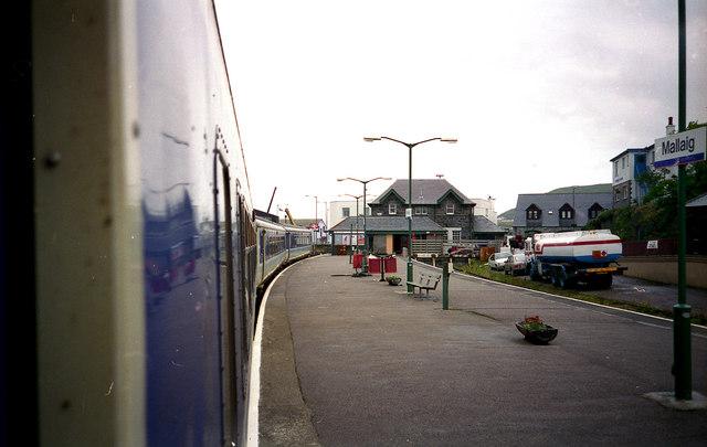 Station platform, Mallaig