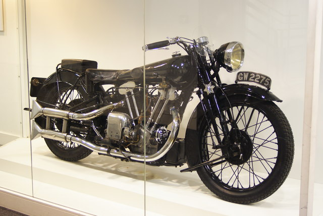 Motorcycle Owned by T.E.Lawrence
