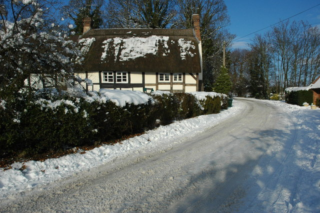 Thatched cottage in Birlingham