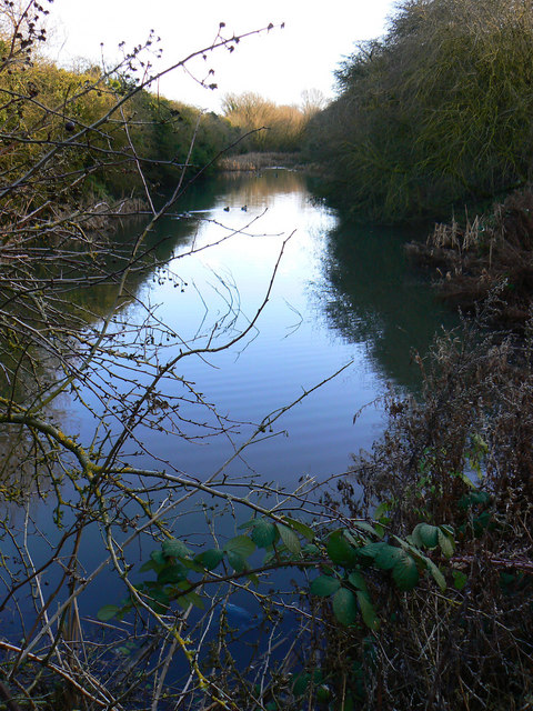 Small pond, Cheney Manor Trading Estate, Swindon
