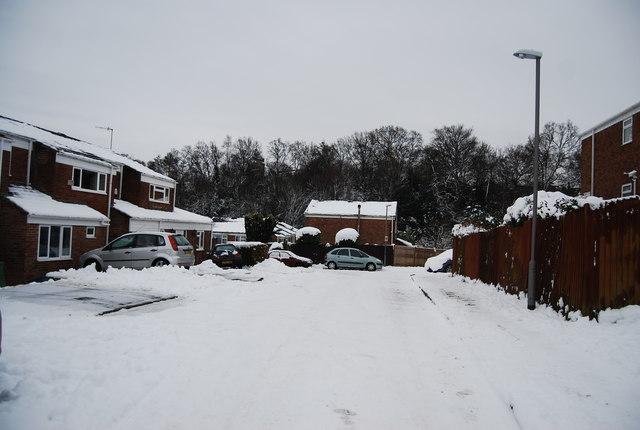 Winter in St Michael's Rd