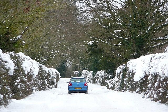 Road to Stratfield Saye