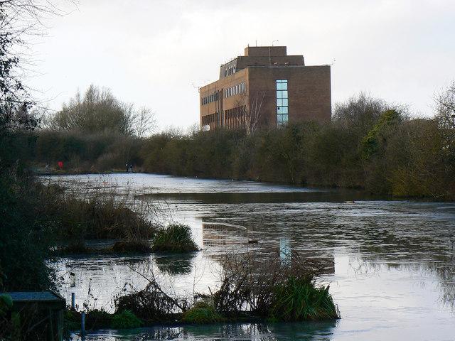 Pond, Cheney Manor Trading Estate, Swindon (6)