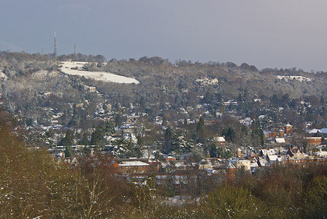 Reigate in the snow