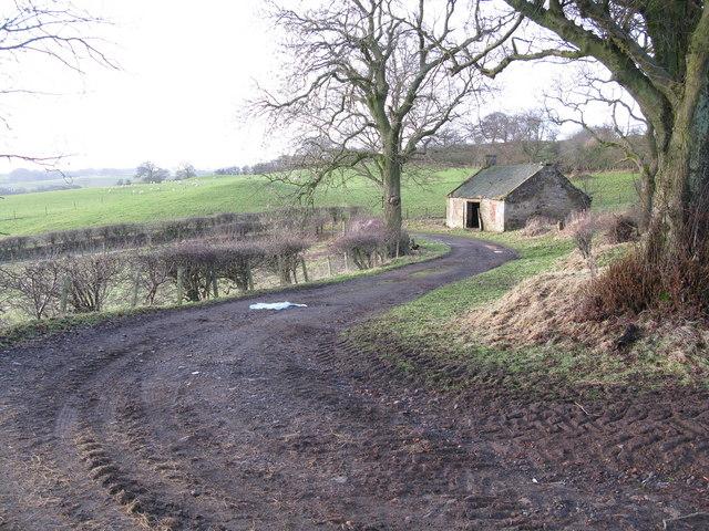 Track to Dechmont Hill
