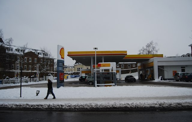 Shell Fuel filling Station, St John's Rd