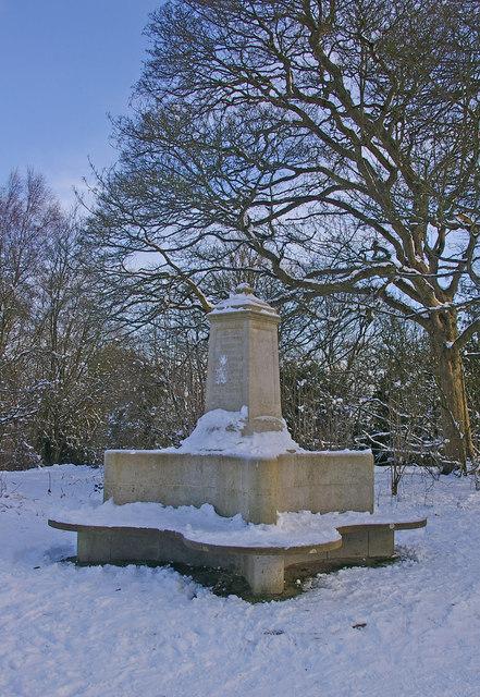 Vogan Memorial, Park Hill