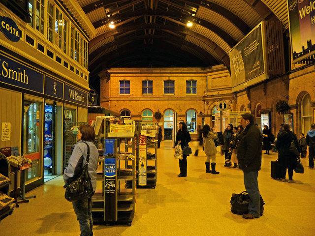 Concourse at York railway station