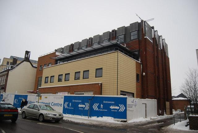 Kidney treatment Centre, Kent & Sussex Hospital