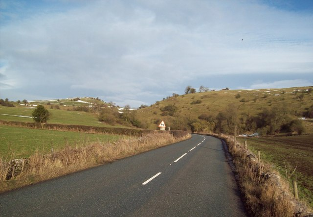 B5056 Road near Dulands Farm