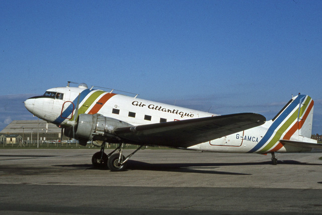 Air Atlantique Dakota at Blackpool Airport