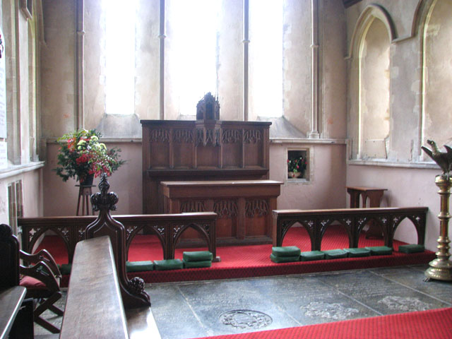 All Saints church - the chancel
