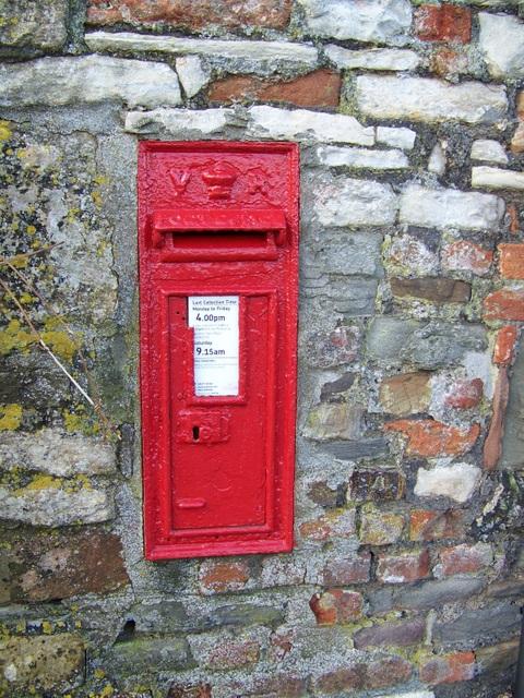 Postbox, Stanton Wick