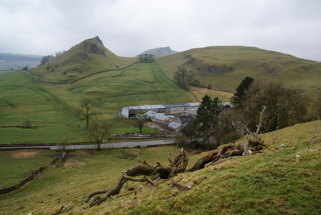 View over Glutton Grange