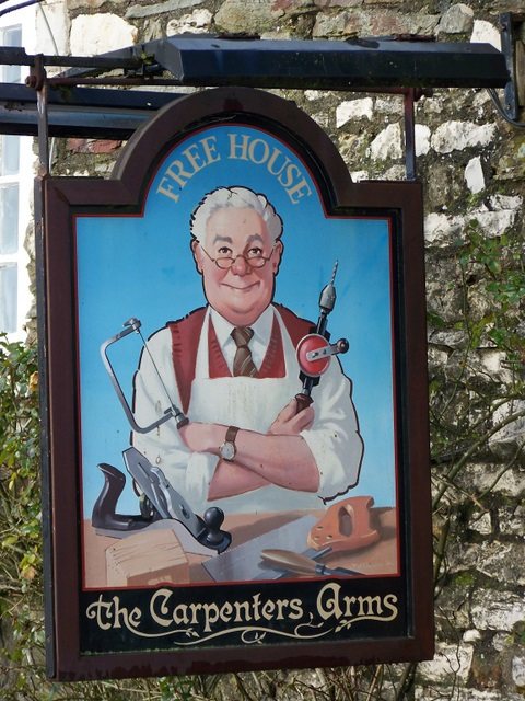 Sign for the Carpenters Arms