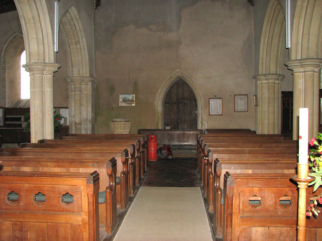 All Saints church - view west