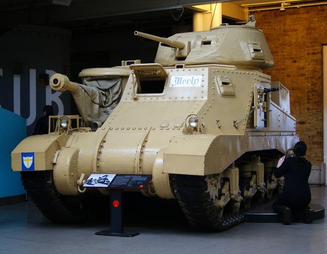 General Montgomery's Command Tank