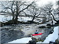 SD8880 : Zig-zag drop on the Upper Wharfe by Andy Waddington