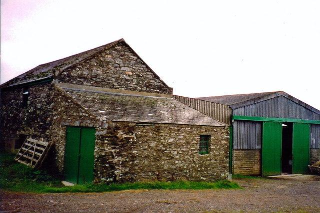 Cregneash - Farm building