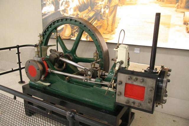Steam engine, Merrywalks Centre