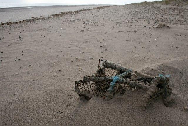 Lost lobsterpot
