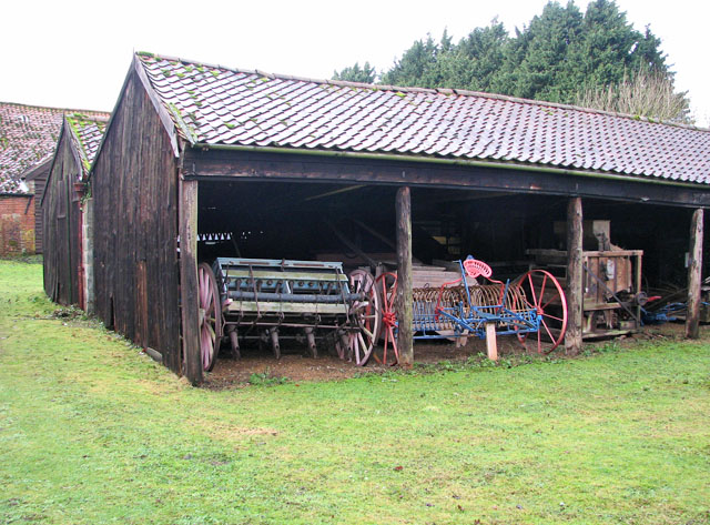 Cart sheds by Ivy Wall Farm