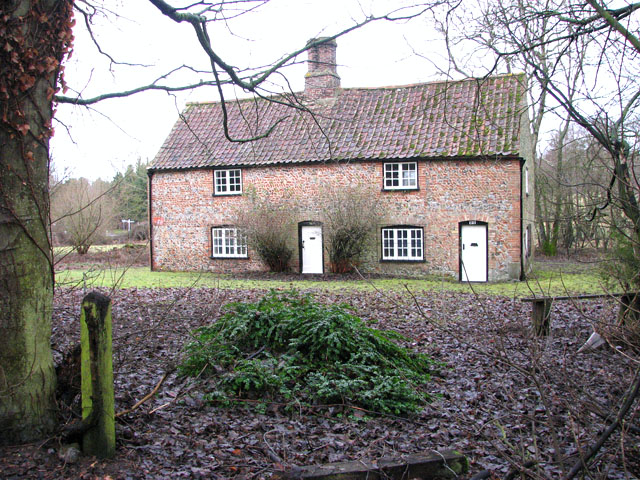 17th century cottage in Cockley Cley
