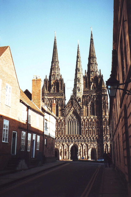 Lichfield Cathedral, west front