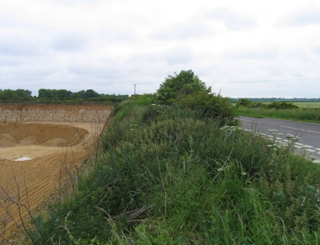 Edge of the quarry