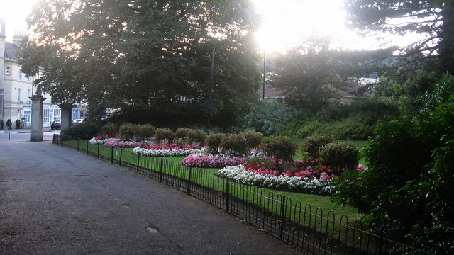 Evening at Sydney Gardens