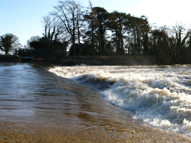Tanfield Weir