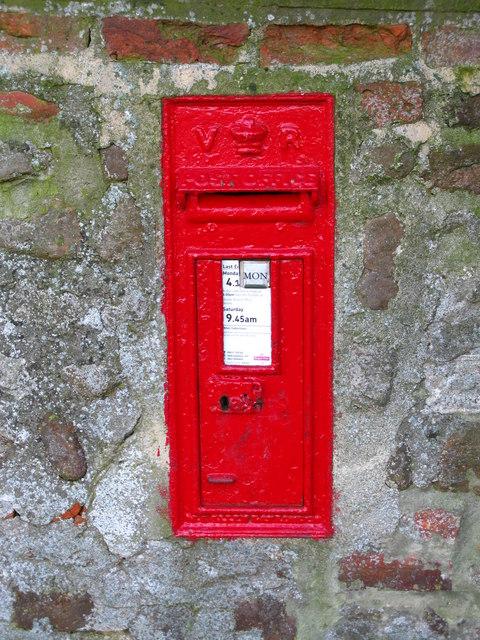 VR Postbox, Thornborough