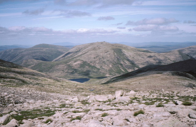 The eastern slopes of Beinn MacDuibh