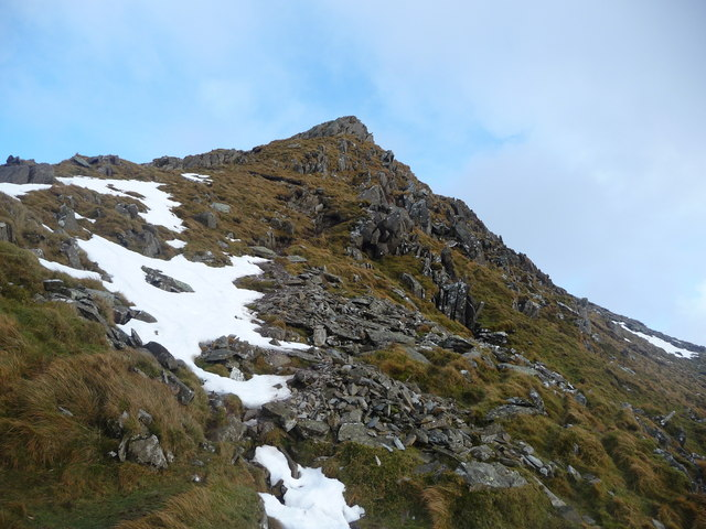 Cnicht summit in sunshine