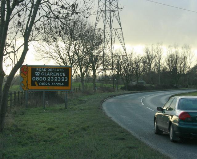 2010 : A350 near Halfway Farm
