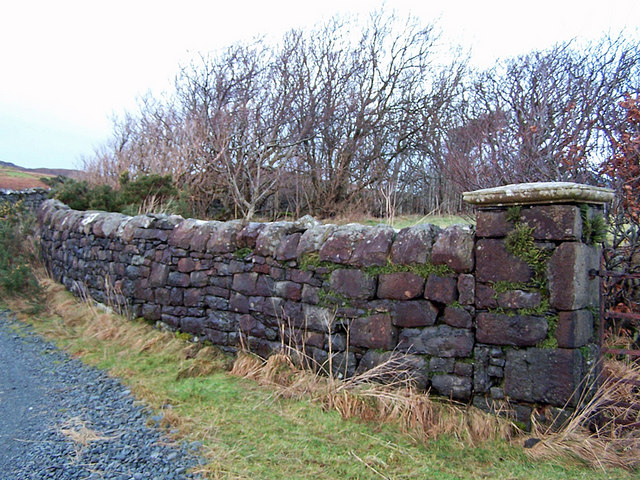 Dry stone wall, Orbost