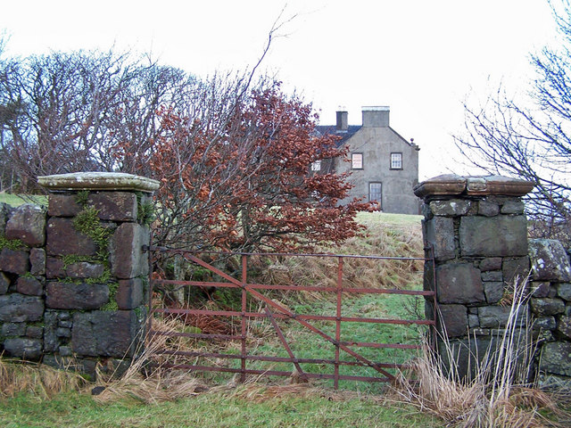 Back gate to Orbost House