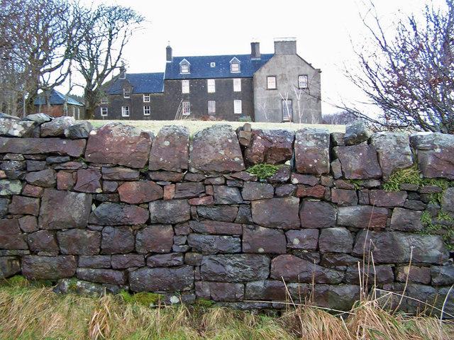Garden wall - Orbost House