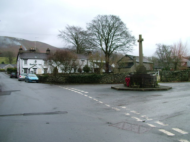 Barbon Inn and War Memorial