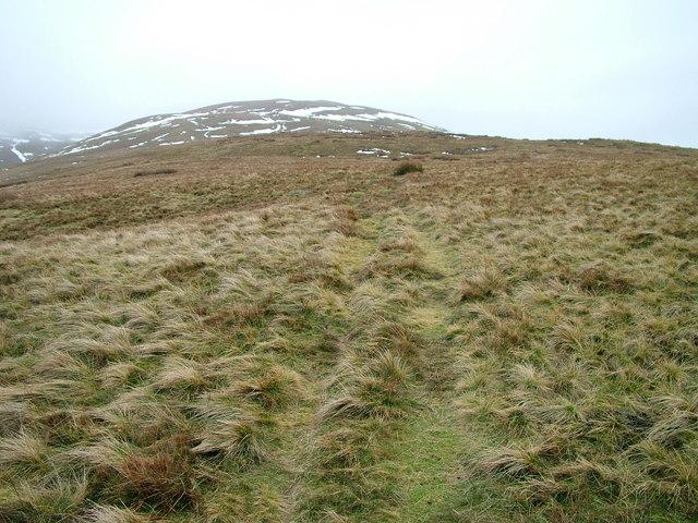 Thorn moor looking towards Castle Knott
