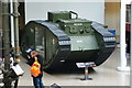 TQ3179 : British Tank Mark V by Peter Trimming