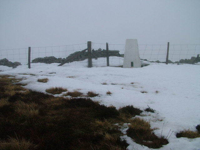 Bleak day on Calf Top